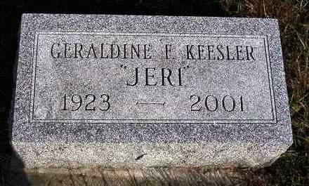 KEESLER, GERALDINE F.