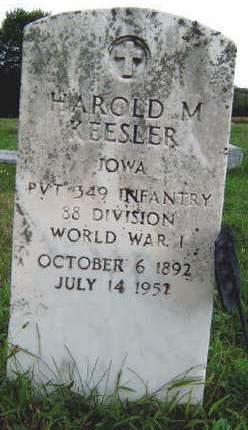 KEESLER, HAROLD MORRIS - Madison County, Iowa | HAROLD MORRIS KEESLER