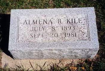 KILE, ALMENA BOYD - Madison County, Iowa   ALMENA BOYD KILE