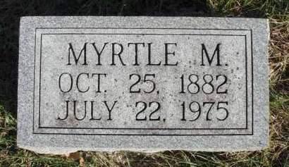 KILLAM, MYRTLE M. - Madison County, Iowa | MYRTLE M. KILLAM