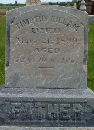 KILLAM, TIMOTHY INGRAM, SR. - Madison County, Iowa | TIMOTHY INGRAM, SR. KILLAM