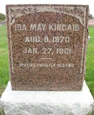 KINCAID, IDA MAY - Madison County, Iowa | IDA MAY KINCAID