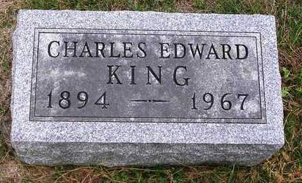 KING, CHARLES EDWARD - Madison County, Iowa   CHARLES EDWARD KING