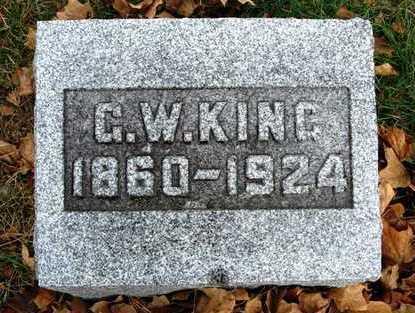 KING, GEORGE WALLACE - Madison County, Iowa | GEORGE WALLACE KING
