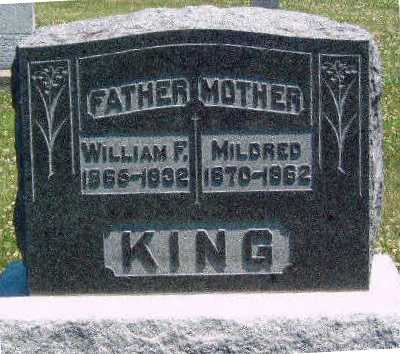 KING, MILDRED - Madison County, Iowa | MILDRED KING