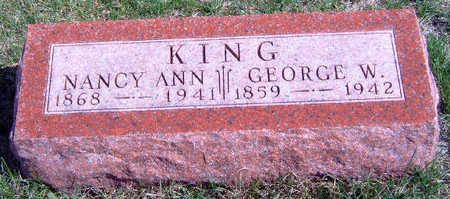 KING, GEORGE WASHINGTON - Madison County, Iowa | GEORGE WASHINGTON KING