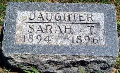 KING, SARAH T - Madison County, Iowa   SARAH T KING