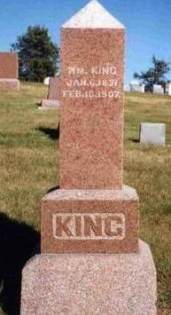 KING, WILLIAM - Madison County, Iowa | WILLIAM KING