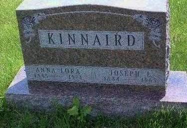 KINNAIRD, ANNA LORA - Madison County, Iowa | ANNA LORA KINNAIRD