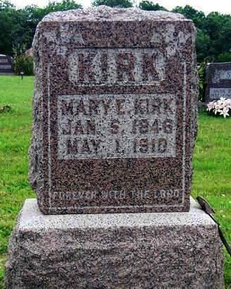 KIRK, MARY ELIZABETH - Madison County, Iowa | MARY ELIZABETH KIRK