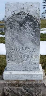 KIRKLAND, CHARLEY H. - Madison County, Iowa | CHARLEY H. KIRKLAND
