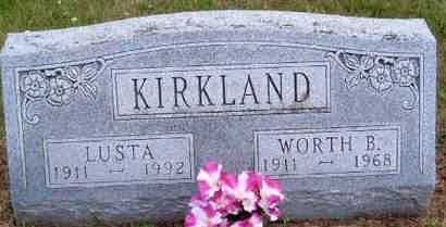 KIRKLAND, LUSTA - Madison County, Iowa | LUSTA KIRKLAND