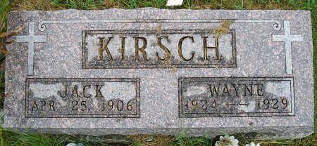 KIRSCH, JACK - Madison County, Iowa   JACK KIRSCH