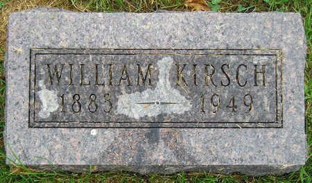 KIRSCH, WILLIAM - Madison County, Iowa | WILLIAM KIRSCH