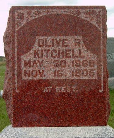 KITCHELL, OLIVE ALVIRA - Madison County, Iowa | OLIVE ALVIRA KITCHELL