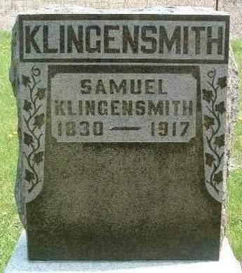 KLINGENSMITH, SAMUEL - Madison County, Iowa   SAMUEL KLINGENSMITH