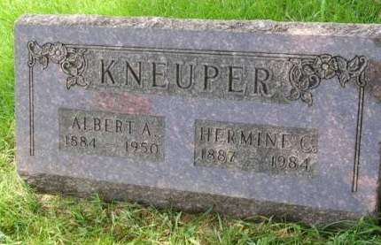 KNEUPER, HERMINA CHRISTINA - Madison County, Iowa | HERMINA CHRISTINA KNEUPER