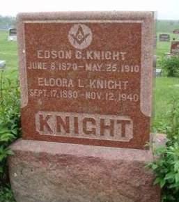 KNIGHT, EDSON CLAIR - Madison County, Iowa   EDSON CLAIR KNIGHT