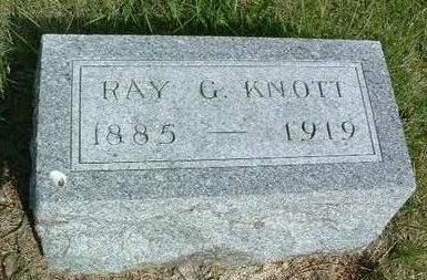 KNOTT, RAY GEORGE - Madison County, Iowa   RAY GEORGE KNOTT