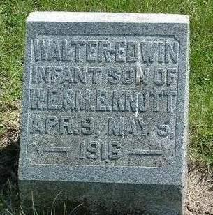 KNOTT, WALTER EDWIN - Madison County, Iowa | WALTER EDWIN KNOTT