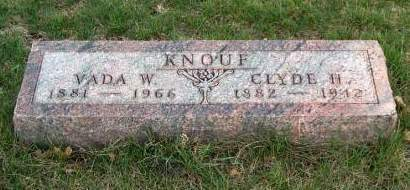 KNOUF, CLYDE HOWARD - Madison County, Iowa | CLYDE HOWARD KNOUF