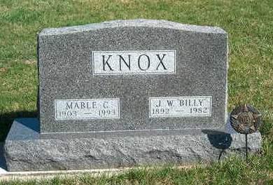 KNOX, JOSEPH WILLIAM (BILLY) - Madison County, Iowa | JOSEPH WILLIAM (BILLY) KNOX