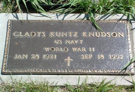 KNUDSON, GLADYS - Madison County, Iowa | GLADYS KNUDSON