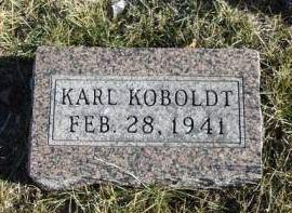KOBOLDT, KARL - Madison County, Iowa | KARL KOBOLDT