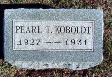 KOBOLDT, PEARL THEODORA - Madison County, Iowa | PEARL THEODORA KOBOLDT