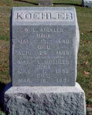 KOEHLER, WILLIAM L. - Madison County, Iowa | WILLIAM L. KOEHLER