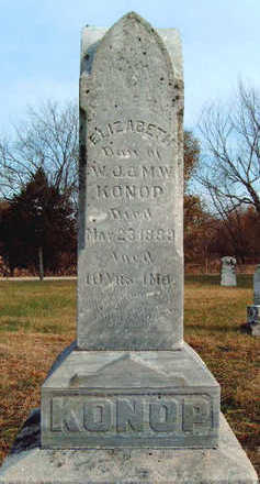 KONOP, ELIZABETH - Madison County, Iowa | ELIZABETH KONOP