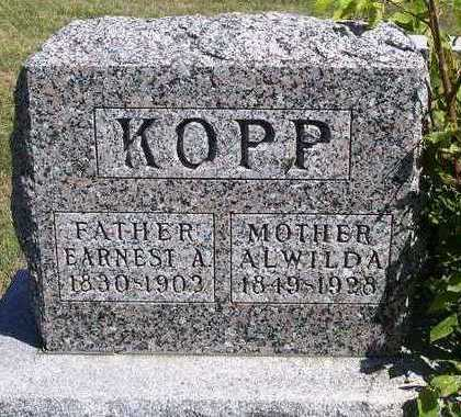 KOPP, EARNEST AUGUST - Madison County, Iowa | EARNEST AUGUST KOPP