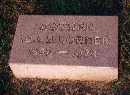 KORNER, IDA BELL - Madison County, Iowa | IDA BELL KORNER
