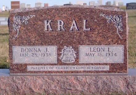 KRAL, DONNA J. - Madison County, Iowa | DONNA J. KRAL