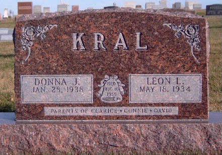 KRAL, LEON R - Madison County, Iowa   LEON R KRAL