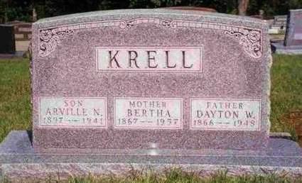 KRELL, ARVILLE NELSON - Madison County, Iowa | ARVILLE NELSON KRELL
