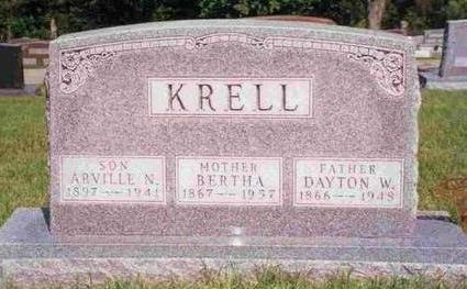 KRELL, BERTHA T. - Madison County, Iowa | BERTHA T. KRELL