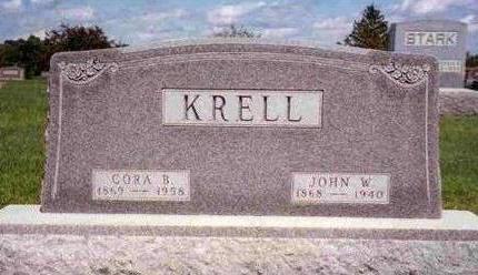 KRELL, CORA BELLE - Madison County, Iowa | CORA BELLE KRELL