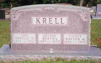 KRELL, DAYTON W. - Madison County, Iowa | DAYTON W. KRELL