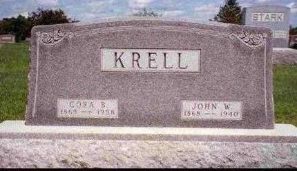 KRELL, JOHN WESLEY - Madison County, Iowa | JOHN WESLEY KRELL