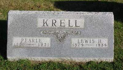 KRELL, LEWIS HENRY - Madison County, Iowa | LEWIS HENRY KRELL