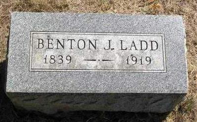 LADD, BENTON JASPER - Madison County, Iowa | BENTON JASPER LADD