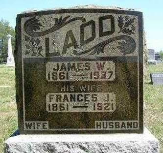 LADD, JAMES WESLEY - Madison County, Iowa | JAMES WESLEY LADD