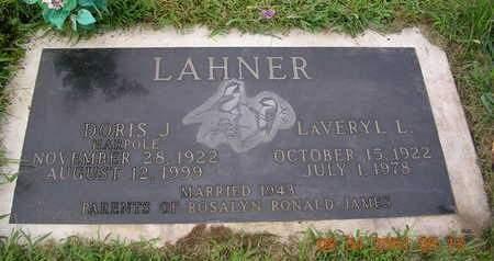LAHNER, LAVERYL L. - Madison County, Iowa | LAVERYL L. LAHNER