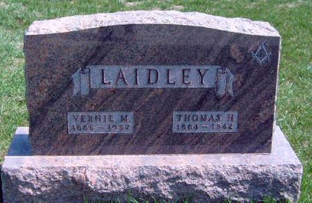 LAIDLEY, VERNIE MELISSA - Madison County, Iowa   VERNIE MELISSA LAIDLEY