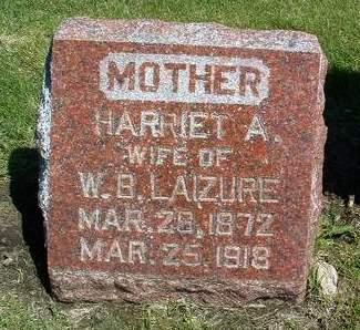 LAIZURE, HARRIET ANN
