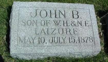 LAIZURE, JOHN B. - Madison County, Iowa | JOHN B. LAIZURE