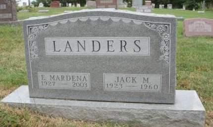 LANDERS, JACK MARVIN - Madison County, Iowa | JACK MARVIN LANDERS