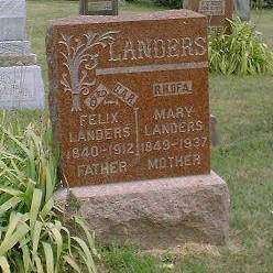 LANDERS, FELIX - Madison County, Iowa | FELIX LANDERS