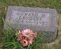 LANDERS, HOWARD HARRISON - Madison County, Iowa | HOWARD HARRISON LANDERS